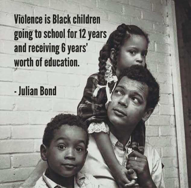 Julian Bond Quote