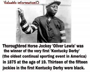 black kentucky derby