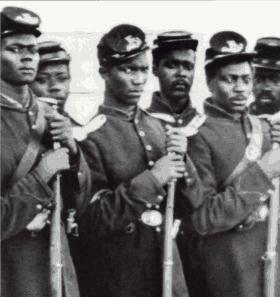 civil war black regiment