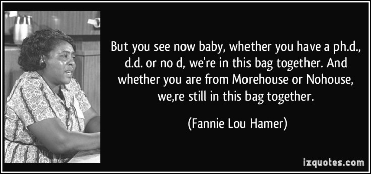 Fannie Lou Hamer Quote