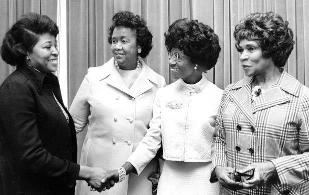betty shabazz dorothy height, shirley chisholm marian anderson