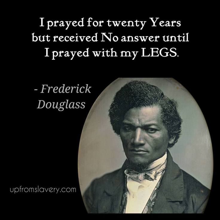 Fred Douglass quote