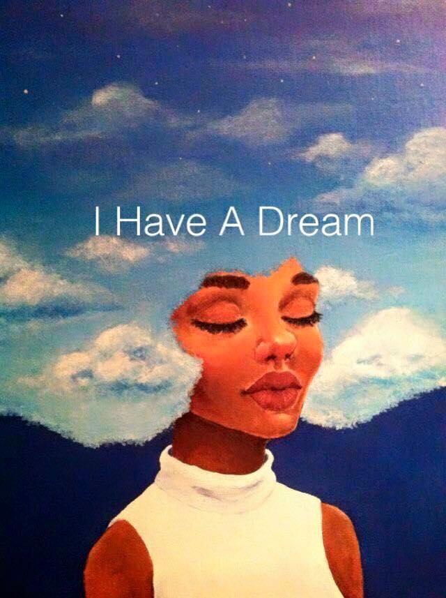I HAVE  A DREAM AFRO