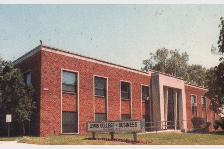 lewis college of business 1976 locaiton