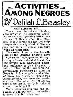 delilah beasley