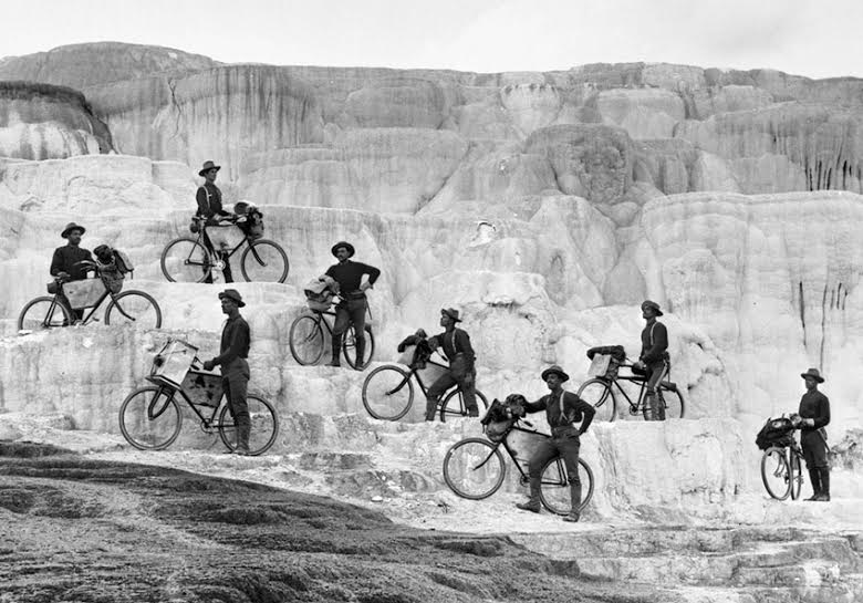 bicycle-infantry-at-yellowstone