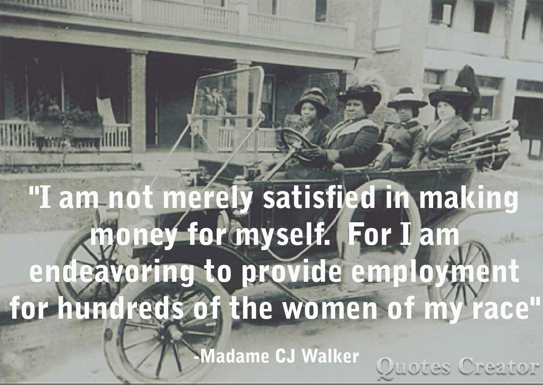 Madam Cj Walker Quotes Madame Cj Walker Quote