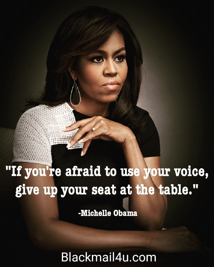 Michelle Obama Quotes About Women: Michelle Obama: Dropping Knowledge