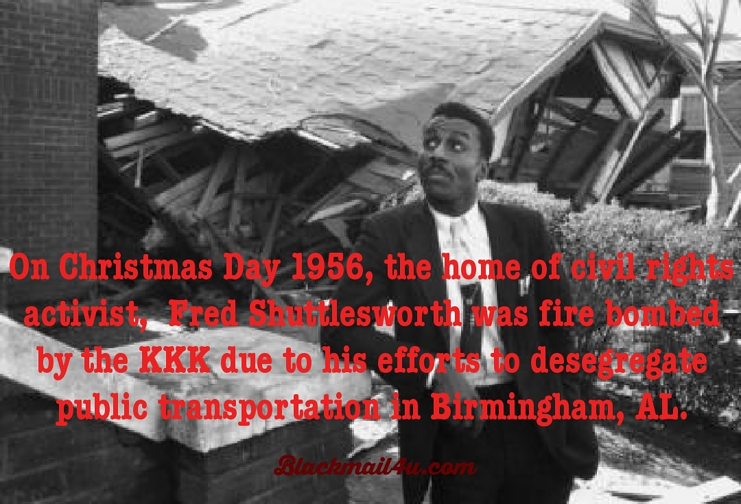1956 Christmas Fire Bombing