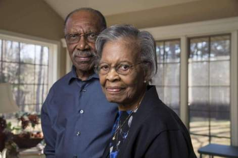 Gladys and Ira West